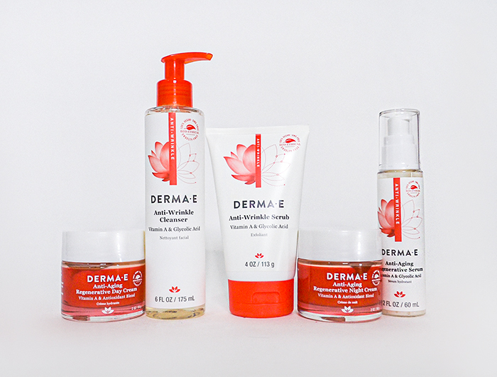 DERMA E Anti aging line products