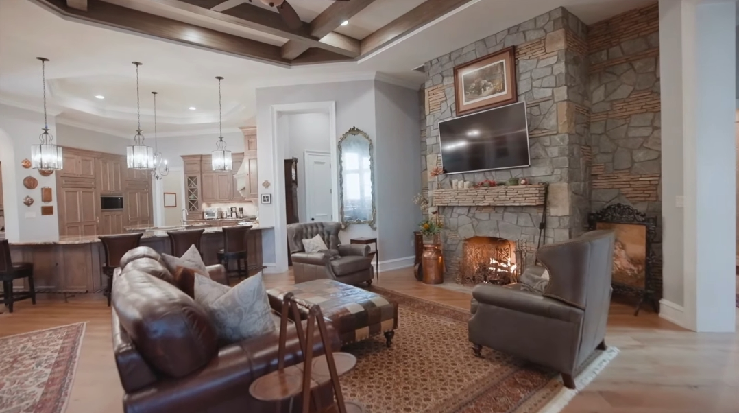 30 Interior Design Photos vs. 405 Ramble Way, Asheville, NC Luxury Mansion Tour