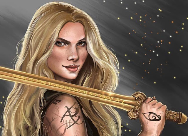 fanart by someone else of emma carstairs