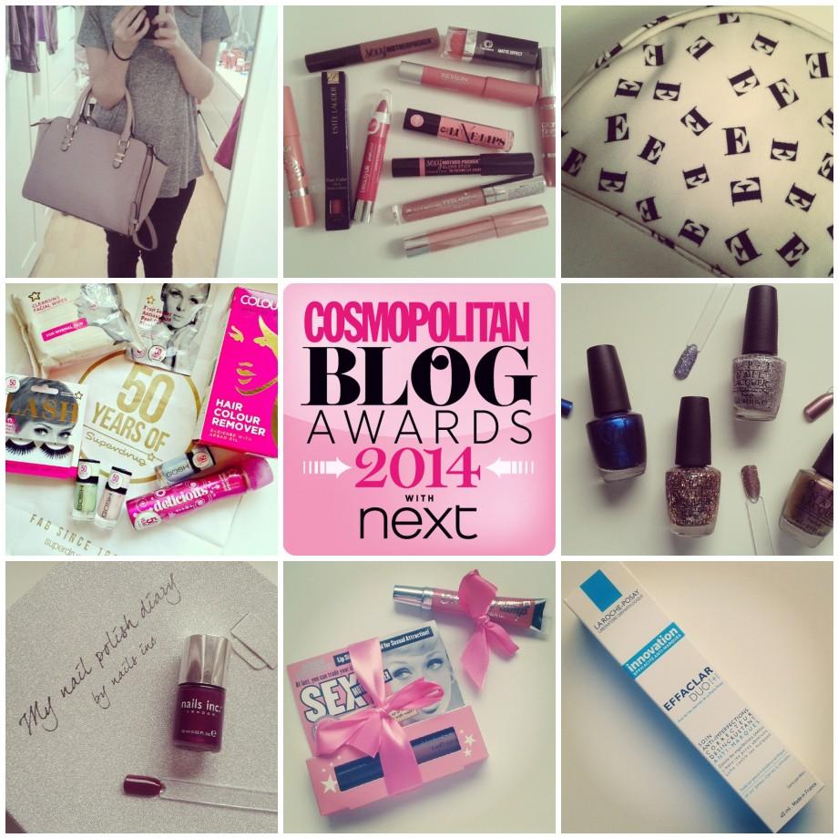 Cosmopolitan Blog Awards 2014 Nominations Best new beauty blog Instagram