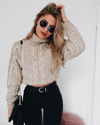 Outfit casual minimalista de invierno