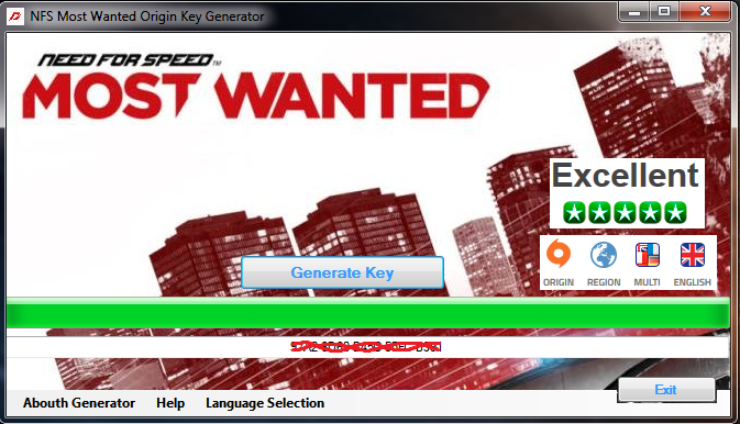 Need for speed most wanted license key free