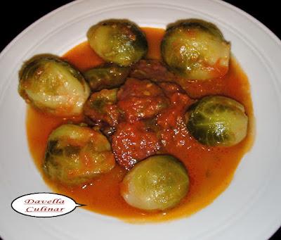 Davella culinar choux de bruxelles aux saucisses - Comment cuisiner des choux de bruxelles en boite ...