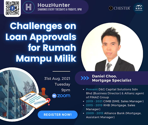 HouzHunter: Challenges on Loan Approvals For Rumah Mampu Milik