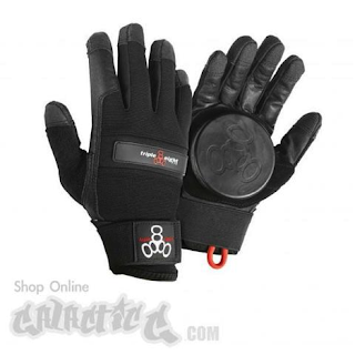 longboarding accessory gloves sliding