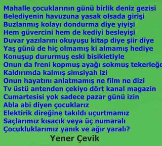 Yener Çevik - Çocuk