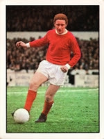 Italian-born Carlo Sartori in action  for Manchester United