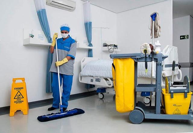 servente de limpeza hospitalar