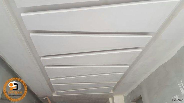 سقف معلق بسيط للممر