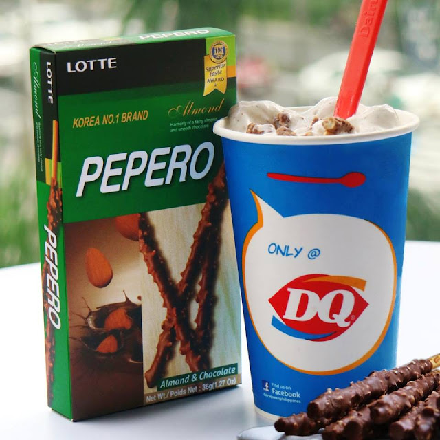 Dairy Queen Unveils Blizzard of the Month: Pepero Blizzard