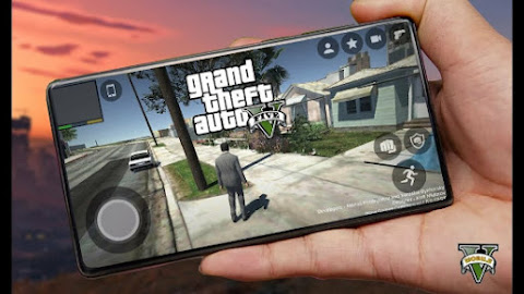 Download GTA 5 Android and Drive around the City