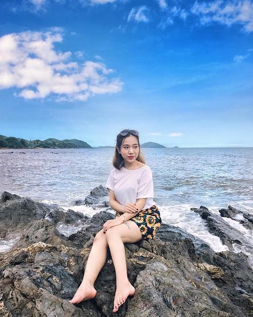 Đảo Cái Chiên Quảng Ninh đẹp bình yên qua ảnh check-in của giới trẻ 3