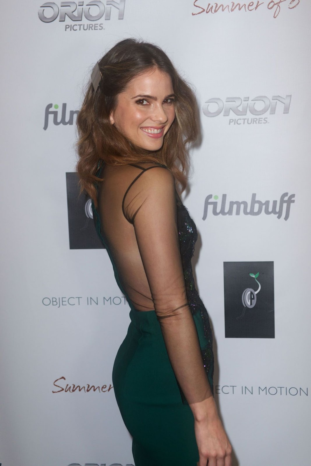 HD Photos of Shelley Hennig at Summer of 8 Los Angeles Premiere