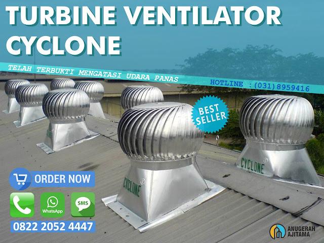 Turbin Ventilator Cyclone Surabaya