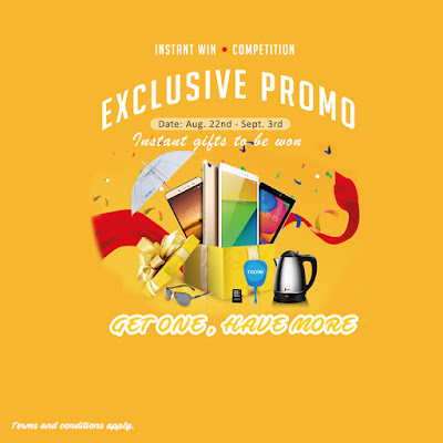EXCLUSIVE PROMO: Get Any TECNO Tablet Device And Win Instant Gift Items