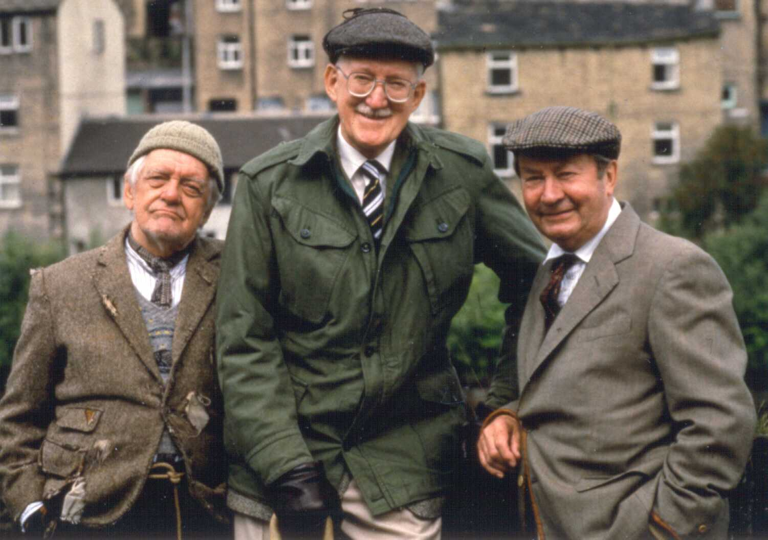 A photo of Compo, Cleggy and Foggy from Last of the Summer Wine