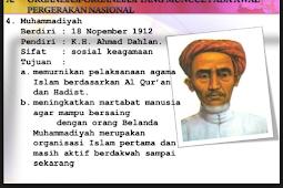 Organisasi Pergerakan Nasional Pada Masa Awal Pergerakan Nasional
