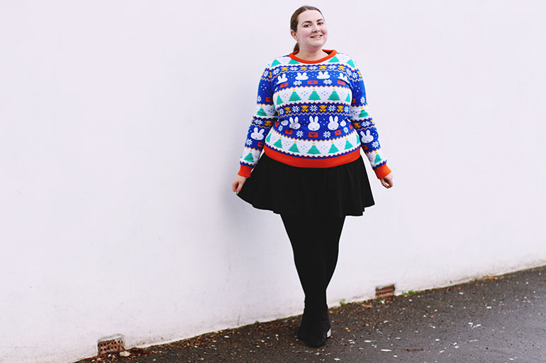 Plus size Miffy jumper