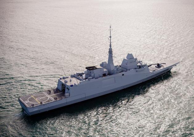 Παρουσίαση στα εξειδικευμένα στελέχη του Πολεμικού Ναυτικού της stealth υπερ-φρεγάτας Belharra (βίντεο)