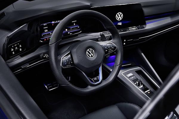 Novo VW Golf R Plus chega em 2022 com 328 cv