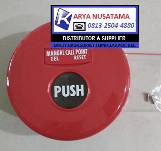 Jual Alarm Kebakaran Push Button MC di Lampung