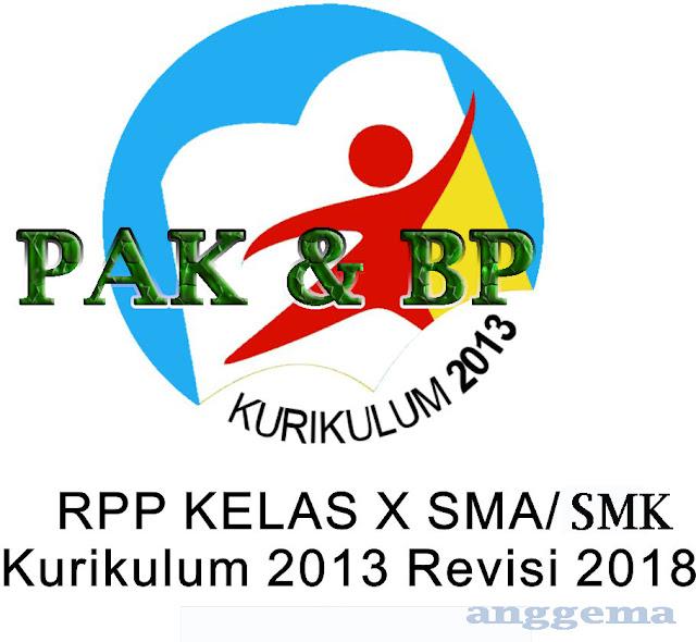 RPP PAK & BP kelas 10 SMA/SMK Kurikulum 2013 Revisi 2018