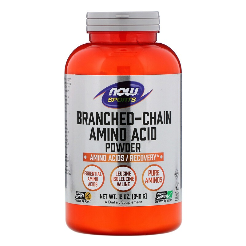 Now Foods, Sports, Branched-Chain Amino Acid Powder, 12 oz (340 g)