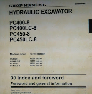 Komatsu pc400-8 pc400lc-8 pc450-8 pc450lc-8