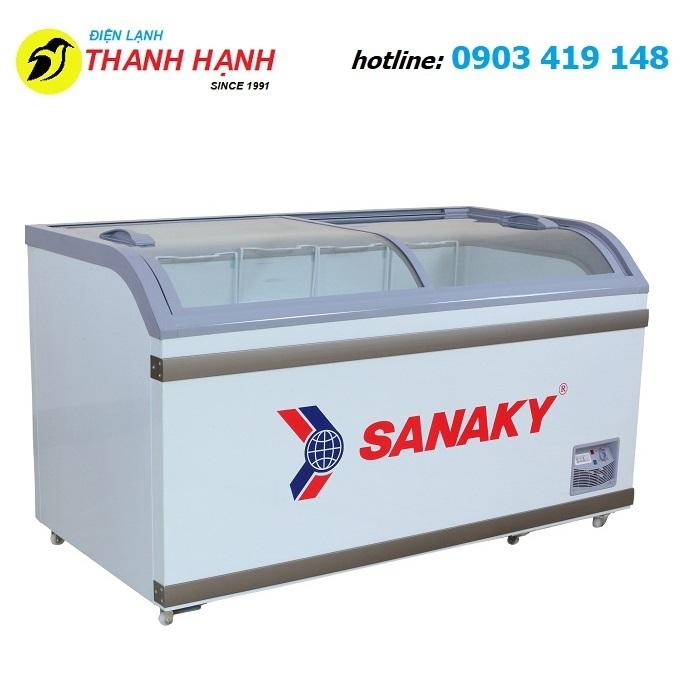 Tủ đông Kính cong Sanaky VH 8088K 800 Lít