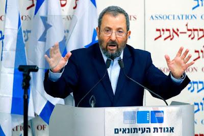 Barak espera se juntar ao Partido Trabalhista, Meretz, Livni