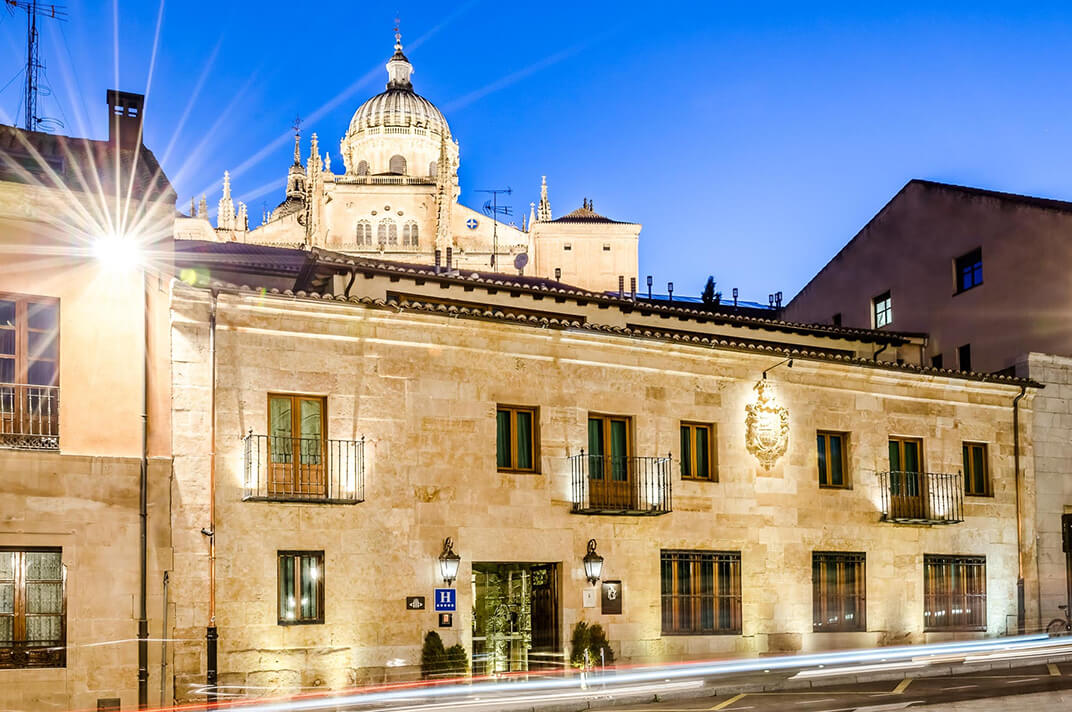 Fachada Hotel Don Gregorio Salamanca