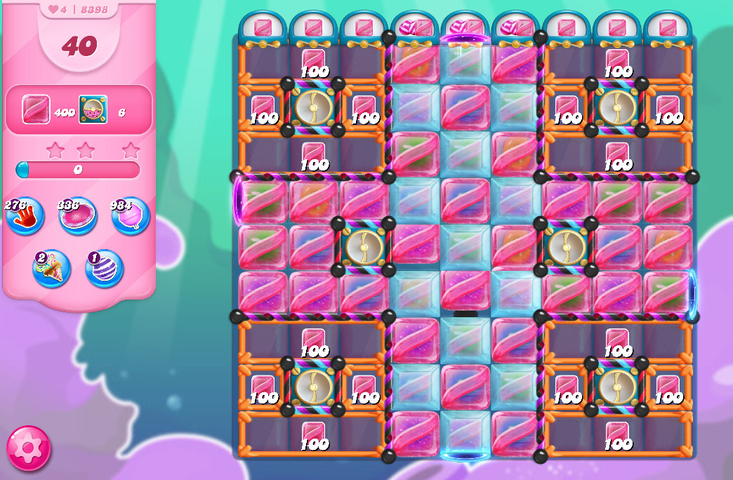 Candy Crush Saga level 8398
