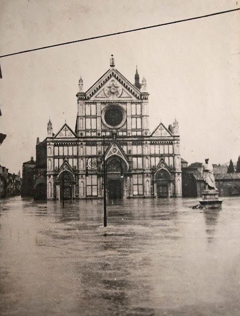 Flooded Santa Croce
