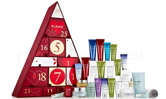Elemis Beauty Advent Calendar 2019 contents and spoilers