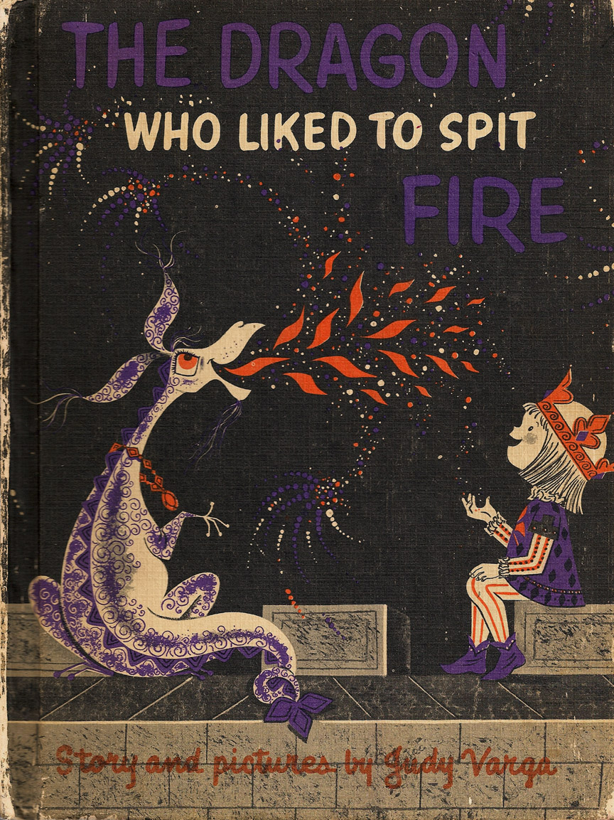 Vintage Children S Book Cover Art : The art of children s picture books dragon who liked