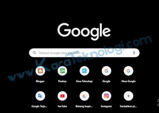 Cara Merubah Tema Dark Mode di Google Chrome