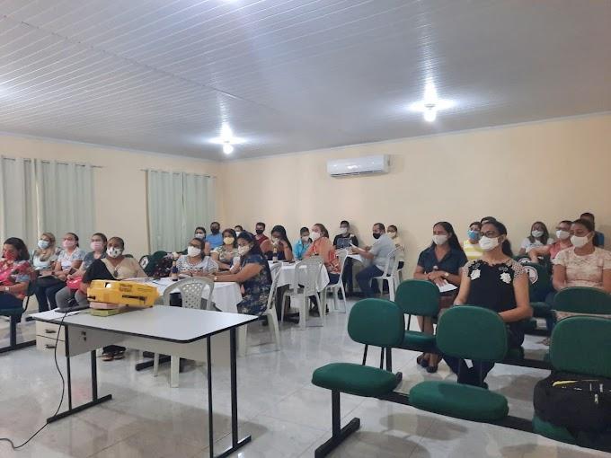 Secretaria da Educação de Cariré realizou a Formação da 1ª Etapa da Coleta do Censo Escolar 2021
