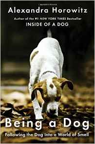 Interview with author Alexandra Horowitz; Being a Dog pictured