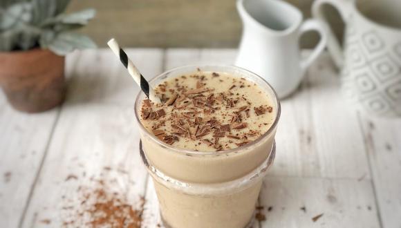 Frappuccino saludable cremoso y sin azúcar