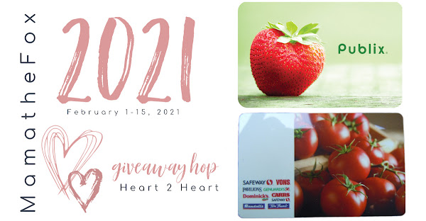 Heart ❤️ 2 Heart 💜 Giveaway Hop