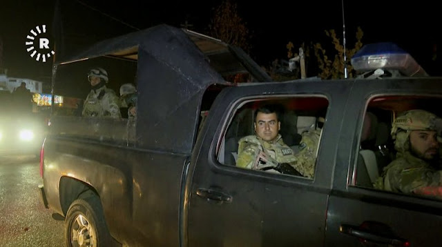 Iraqi forces enter Kurds