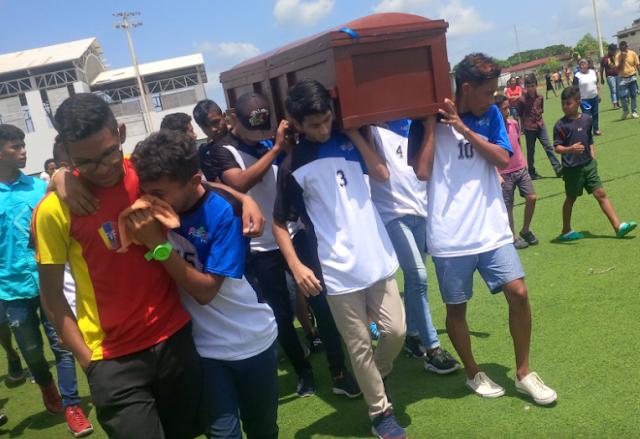 APURE: Futbolista Jonathan Herrera ultimado por el hampa le dieron su último a Dios en Poli de San Fernando.