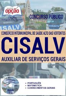 Apostila Consórcio Intermunicipal de Saúde Alto das Vertentes / MG