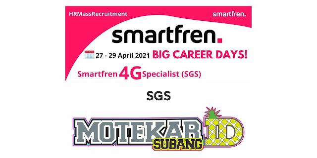 Info Lowonga Kerja Smartfren Subang