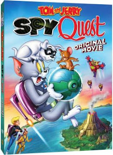 "Enter the Tom and Jerry ""Spy Quest"" DVD Giveaway. Ends 7/19."
