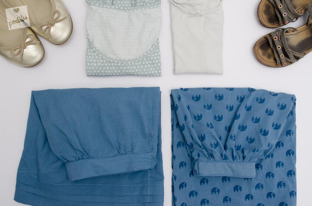 Paris Skirt aus Stoffen von Karlotta Pink mit Kasumi Tupfen Top