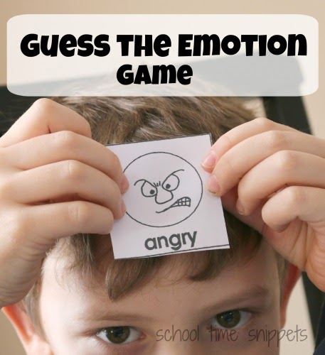 Guess the Emotion game for children