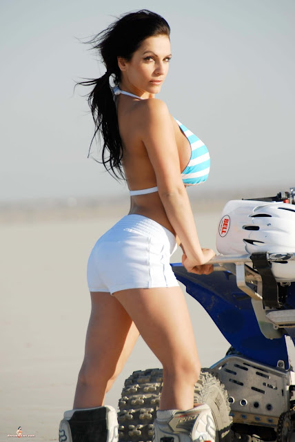 Denise Milani ATV hot and sexy Photoshoot picture 12