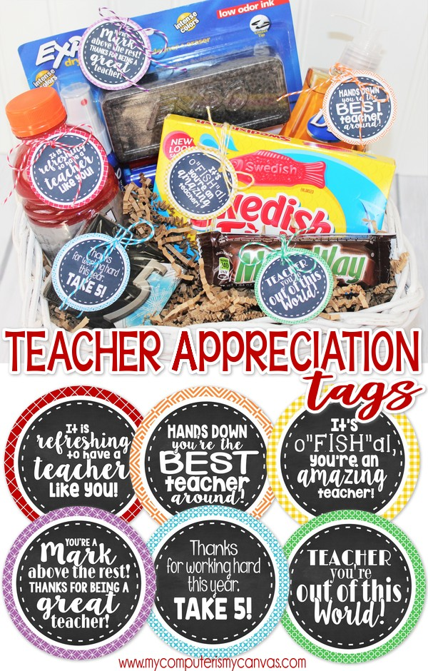 image relating to Teacher Appreciation Printable Tags named Instructor Appreciation Printable Tags! - My Personal computer is My Canvas
