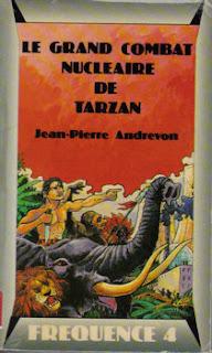 Le grand combat nucléaire de Tarzan - Jean-Pierre Andrevon